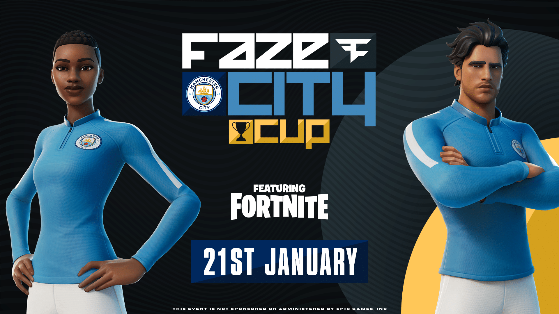 FaZe Clan Man City Fortnite