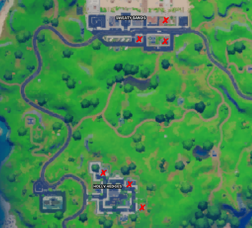 Fortnite book locations