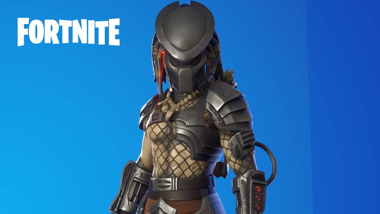 Fortnite Predator skin