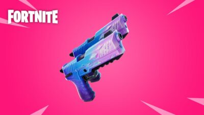 Fortnite v15.20 update pistols