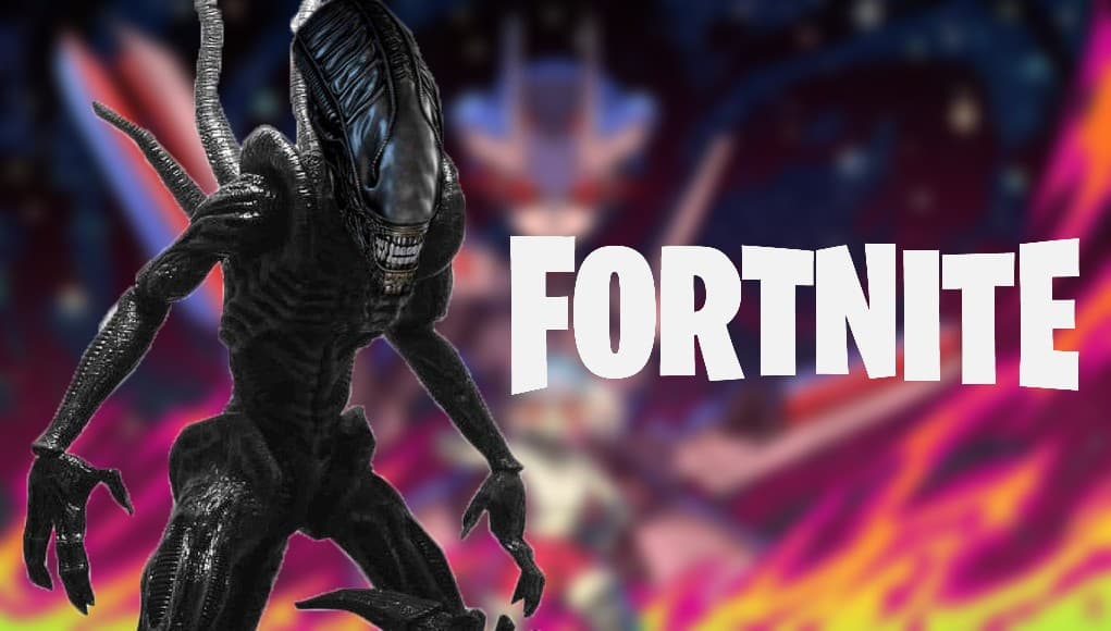 Fortnite Alien crossover