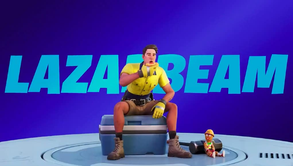 Fortnite Lazarbeam skin