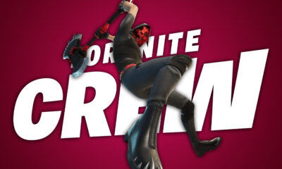 Fortnite Crew Deimos Skin