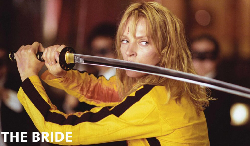 Fortnite the bride kill bill