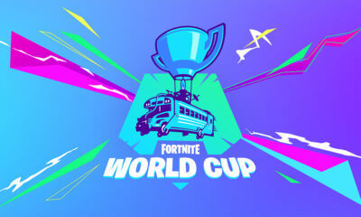 Fortnite world cup promo art