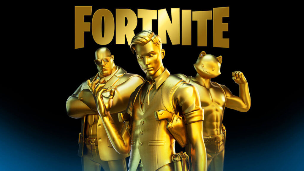 fortnite gold skins